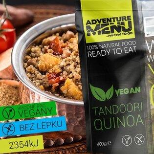 Adventure Menu® - Tandoori Quinoa VEGÁN