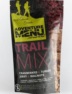 Adventure Menu® - Trail Mix 50g - Brusinka, krůtí maso, pecan