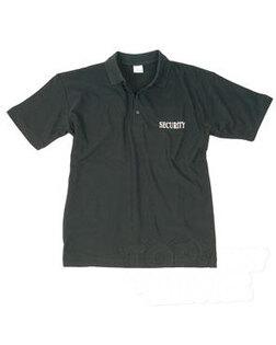 Bavlnená SECURITY polokošeľa Mil-Tec® - čierna