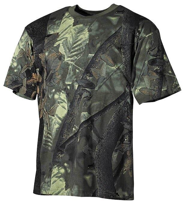 Bavlnené tričko klasického štýlu US army MFH® - hunter (lovec)