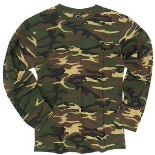 Bavlnené tričko s dlhým rukávom Mil-Tec®