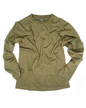 Bavlněné tričko s dlouhým rukávem Mil-Tec®