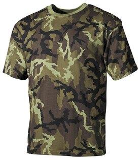 Bavlněné tričko US army MFH® s krátkým rukávem