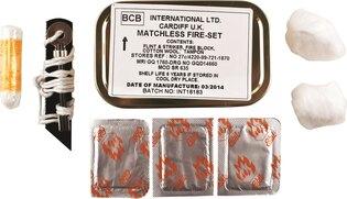 Bez-zápalková sada na založenie ohňa BCB® MOD