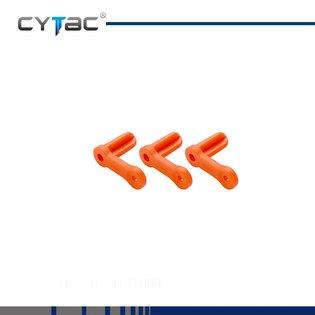 Bezpečnostná vložka do komory, 2 kusy, Cytac® 9mm- oranžová