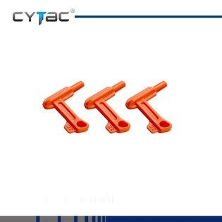 Bezpečnostní vložka do nábojové komory pistole Cytac® .22 Cal. / .22 LR / 5.56 mm, 10 kusů - oranžová
