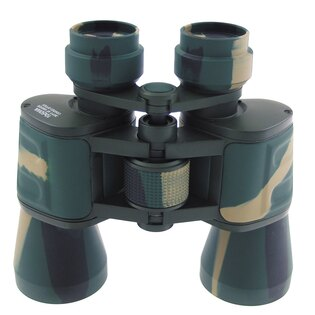 Binokulární skládací dalekohled MFH® univerzální 10 x 50 - woodland