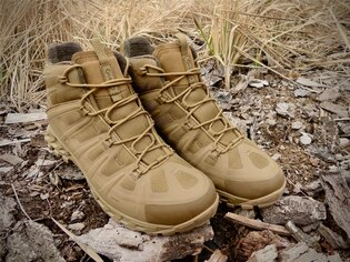 Boty AKU Tactical® Selvatica Mid GTX® - Coyote