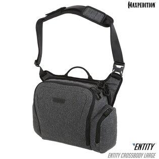 Brašna na rameno Entity™ Crossbody Maxpedition® Large - Charcoal
