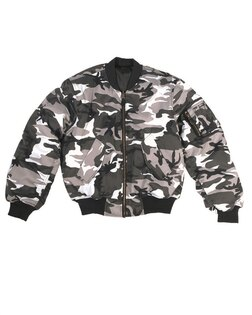 "Bunda Flight Jacket MA1 ""Bomber"" Mil-Tec® - urban"