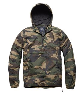 Bunda Grafton Light Anorak Vintage Industries® - Woodland Camo