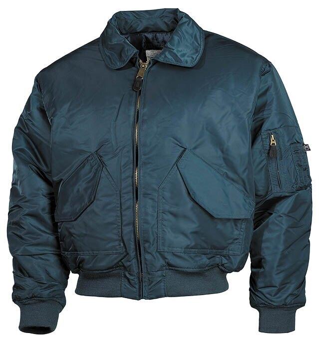"Bunda MFH® Flight Jacket CWU ""Bomber""- navyblue"