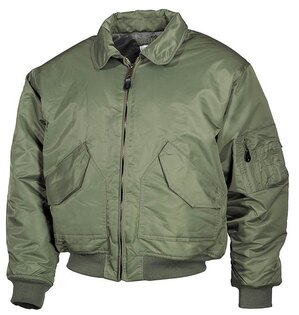 "Bunda MFH® Flight Jacket CWU ""Bomber""- oliv"