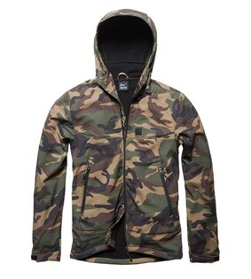 Bunda softshell Alford Vintage Industries® - Woodland Camo