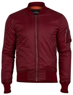 "Bunda SURPLUS® MA1 Basic ""Bomber""- bordeaux"