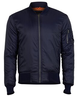 "Bunda SURPLUS® MA1 Basic ""Bomber""- navy"