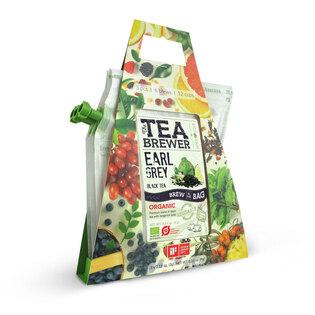 Čaj na cesty Grower's Cup®, 3 druhy čaje, konvice