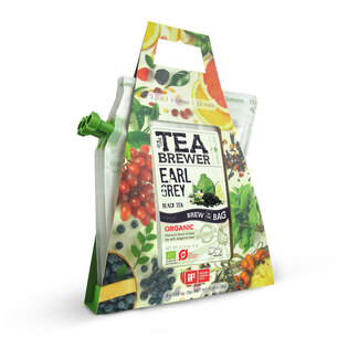 Čaj na cesty Grower's Cup®, 3 druhy čaju, kanvica