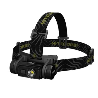 Čelovka - náhlavné LED svietidlo HC 60 Nitecore® - čierna