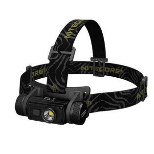 Čelovka – náhlavní LED svítilna HC 60 Nitecore® - černá