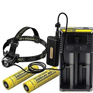 Čelovka – náhlavní LED svítilna HC 70 Nitecore® - černá