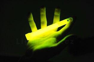 Chemické světlo - tyčinka Lightstick® Sport 25 ks - žluté
