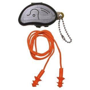 Chrániče sluchu so šnúrkou MFH® - oranžové