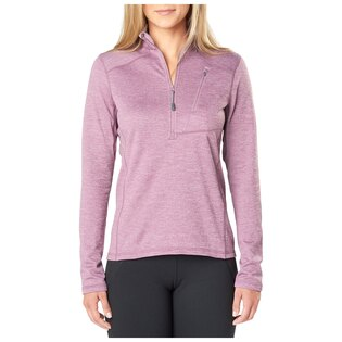 Dámská mikina 5.11 Tactical® Glacier Half Zip - Plum Heather