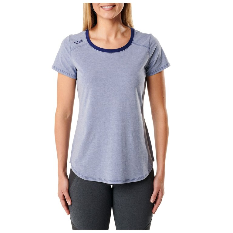 Dámské tričko 5.11 Tactical® Freya Top - Blueprint Heather