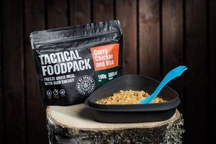 Dehydrované jedlo Tactical Foodpack® kurča na karí s ryžou
