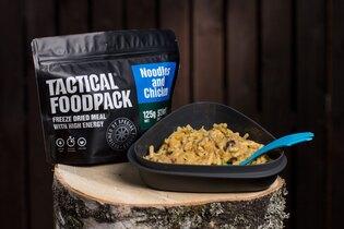 Dehydrované jedlo Tactical Foodpack® rezance s kuracím mäsom