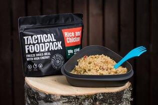 Dehydrované jedlo Tactical Foodpack® ryža s kuracím mäsom