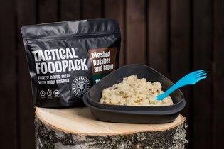 Dehydrované jedlo Tactical Foodpack® zemiaková kaša so slaninou