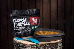 Dehydrované jídlo Tactical Foodpack® masová polévka