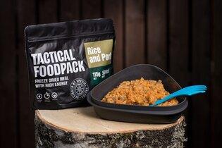 Dehydrované jídlo Tactical Foodpack® rýže s vepřovým masem