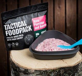 Dehydrované jídlo Tactical Foodpack® rýžová kaše s malinami