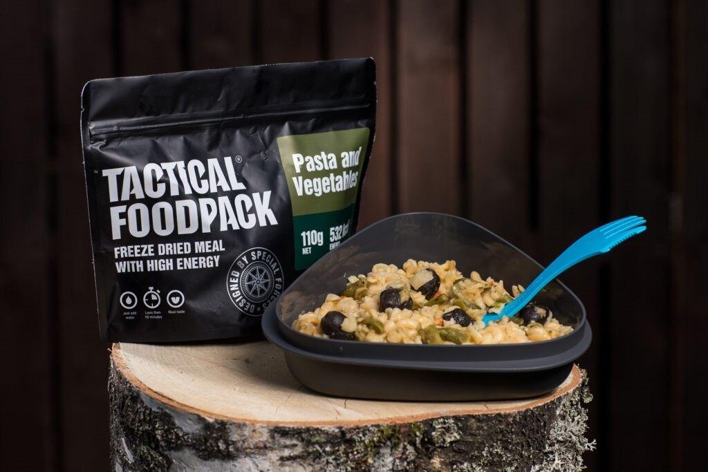 Dehydrované jídlo Tactical Foodpack® těstoviny se zeleninou