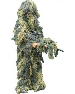 Dětský Hejkal Ghillie Suit Kombat UK® - woodland