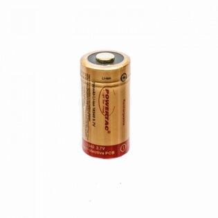Dobíjecí baterie RCR123A PowerTac®