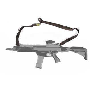 Dvojbodový (1 - 2 body) popruh na zbraň Fenix Protector® - čierny