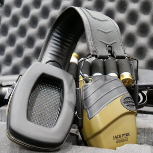 Elektronická sluchátka Jack Pyke® - zelená