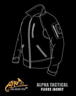 Fleecová mikina Alpha Tactical HELIKON-TEX®