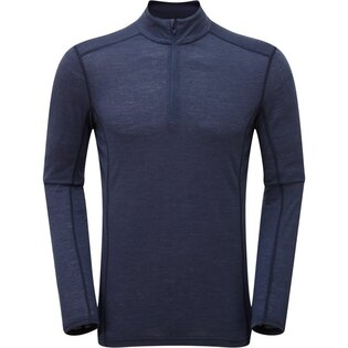Funkční triko Primino® Zip Neck s dlouhým rukávem Montane®