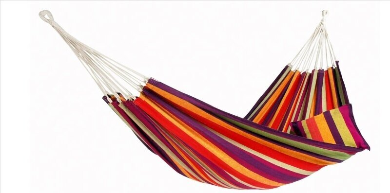 Hamaka - houpací síť AMAZONAS® Lambada - tropical