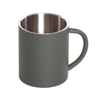 Hrnek nerezový 101INC® 0,25 l - oliv