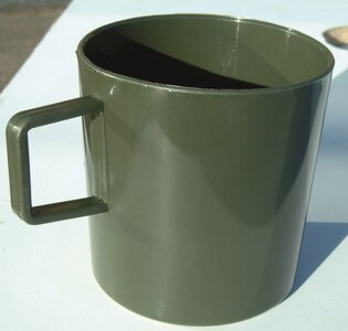 Hrnek plastový BCB® - zelený