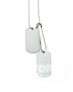 """Identifikační známky """"Dog Tags"""" Mil-Tec® originál US Army"""