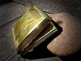 Izotermická fólia zlato-strieborná 220x140 cm