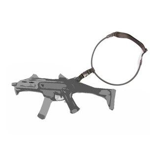 Jednobodový elastický popruh na zbraň Fenix Protector® - čierny