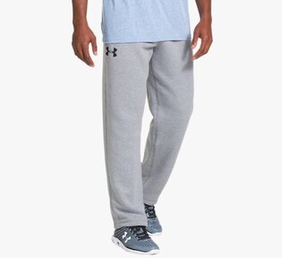 Kalhoty / tepláky UNDER ARMOUR® Rival Uncuffed Charged Cotton®